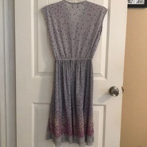 Dresses - Vintage sheer purple dress